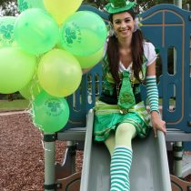 Clown parties for st Patricks day or october fest