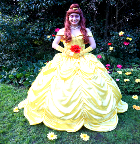 Princess Bell From Beauty And the Beast party entertainer sydney