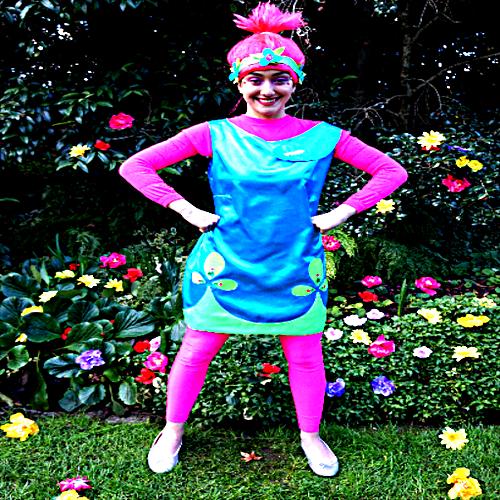 Princess Poppy Trolls Entertainer
