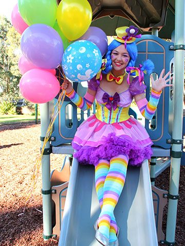 clown party sydney. A magical clown party at your home
