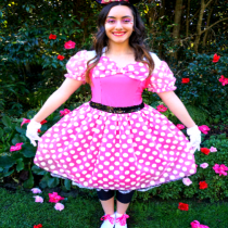 Pink Minnie Mouse Party Entertainer for kids in sydney