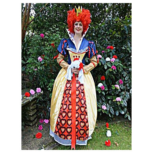 Queen Of Hearts party host