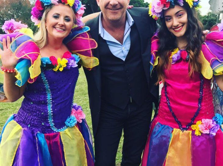 Mat Moran from The Great Australian bake off wit Fairy Wishes