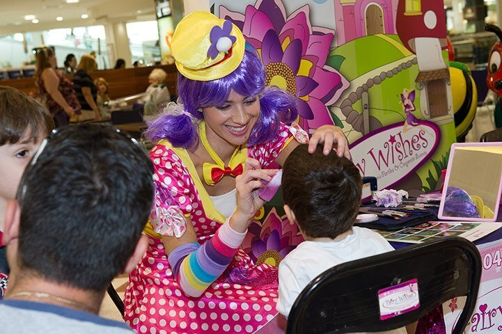 westfield-miranda-funky-clown-face-painting-16