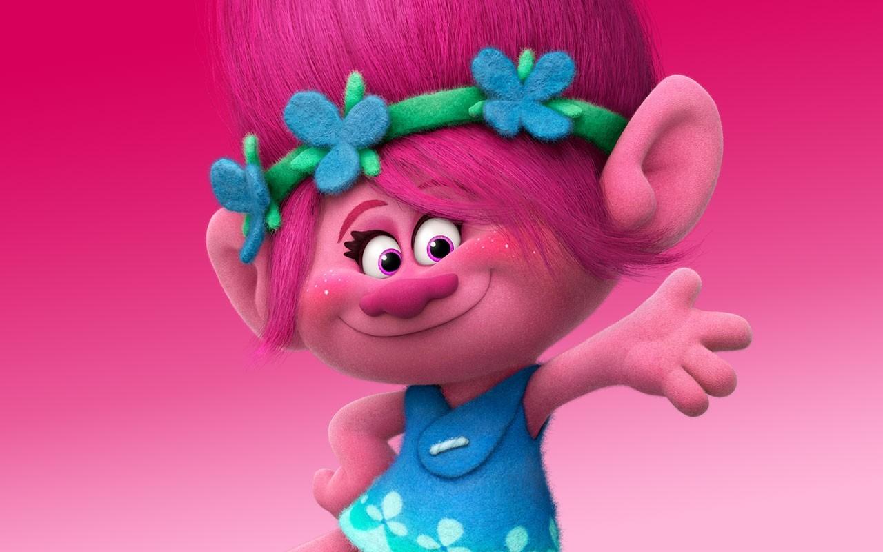 Princess poppy troll entertainer